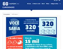 Alstom 60 anos - Infográfico