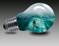 O mundo em uma lampada