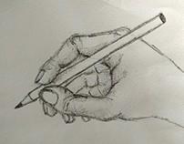 Free-hand work
