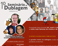 1º Seminário de Dublagem