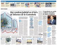 Diseño y diagramación de diario EL UNIVERSO.