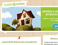 Landing page para Seguro Residencial