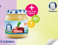 Nestle® Gerber Baby Food Ads