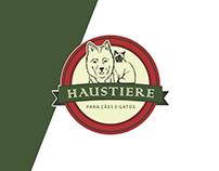 Pet shop - Haustiere - logo e papelaria