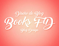 Diseño de Blog Books FD/Blog Design