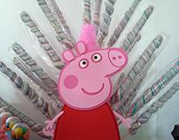 Personalizados - Tema: Peppa Pig