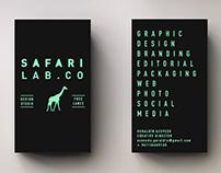 Safari Lab / Tarjetas