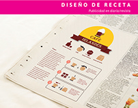 Diseño de pictogramas / Armado de receta