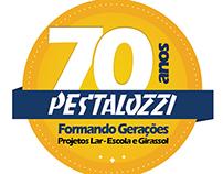 Selo 70 Anos Pestalozzi