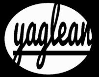 yaglean diseño de logo y mascota