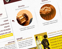 Web Site - Escritório de Advocacia