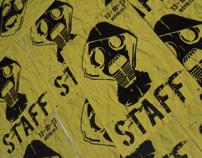 """Credencial de Staff - """"El día después de la Raza"""""""