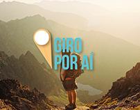 Giro Por Aí - Branding