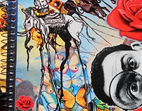 collages sobre arte