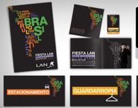 Fiesta fin de año 2012 LAN Chile