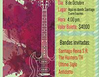 Under Rock Festival Flyer