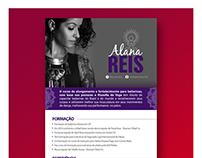 Cliente: Alana Reis - currículo eletrônico.