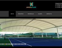 Pagina web para Armaflex