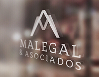 Branding and Graphic Design for MALEGAL ASOCIADOS