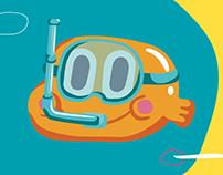 Cartoon Network Verão Divertido - Icon Design