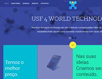 Site da empresa Usf4 Technology.