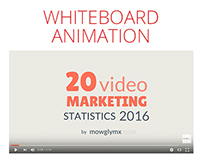 20 Video Marketing Statistics - Animated Infographics