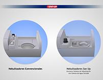 SAN-UP Nebulizadores / SAN-UP Nebulizers