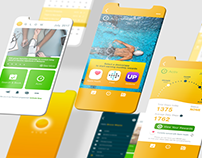 Health app UI design