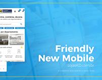 Mobile E-commerce Redesign | LojasKD
