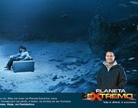 Anúncio Planeta Extremo