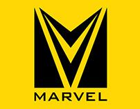 Trabalho acadêmico: Marvel, redesign de marca.