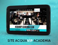 Site AcquaVip Academia