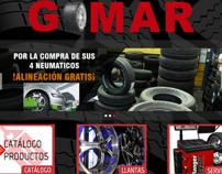 Diseño Sitio Web Animado Comercial Gomar
