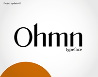 Ohmn typeface - two