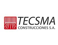 Logotipo TECSMA Construcciones SA