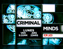 CRIMINAL MINDS- Cierre custom - AXN