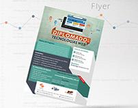 Flyer Diplomado en Tecnologías Web