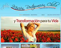 Web Site Misión Restauración Chile