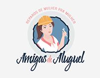 Logotipo Amigas de Aluguel (2016)