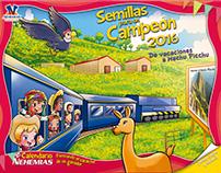 Calendario Rotafolio Infantil 2016