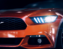 Ford Mustang 2015 reveal animation