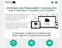 Bonus Creativo - Newsletter
