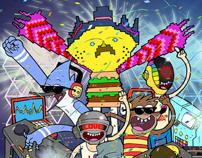 Regular show & Daft punk