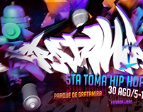 3D Flyer Gratamirap 5 toma hip hop