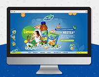 Diseño página web Nestea®