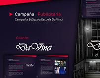 Campaña 360º - Escuela Da Vinci