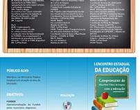 FOLDER do 'I Encontro Estadual da Educação' MPAL
