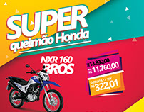 Campanha Jornal - Super Queimão Honda