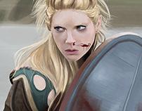 Digital Painting - Fanart of Vikings