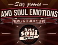 Livin Soul Project ( logo & flyer )